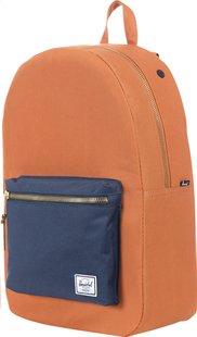 Herschel sac à dos Settlement Carrot/Navy-Côté gauche