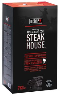 Weber charbon de bois Steak House 7 kg