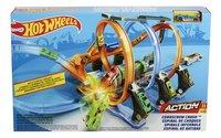 Hot Wheels acrobatische racebaan Corkscrew Crash-Vooraanzicht