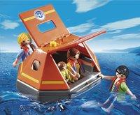 Playmobil City Action 5545 Naufragés avec radeau de survie-Image 1