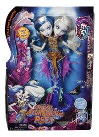 Monster High mannequinpop Groot Griezelrif Peri & Pearl-Vooraanzicht