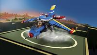 LEGO Creator 3 en 1 31094 L'avion de course-Image 5