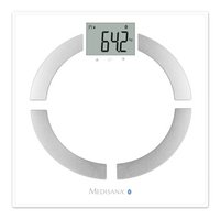 Medisana Pèse-personne/impédancemètre BS444 connect argenté/blanc