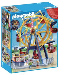 Playmobil Summer Fun 5552 Grande roue avec illuminations