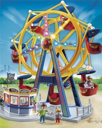 Playmobil Summer Fun 5552 Grande roue avec illuminations-Avant