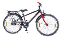 Citybike Blade 24/ noir avec porte-bagages-Côté gauche