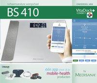 Medisana Personenweegschaal/vetmeter BS 410 Connect grijs/wit-Afbeelding 3