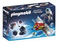 Playmobil City Action 6197 Satellite avec laser et météoroïde