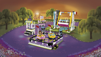 LEGO Friends 41133 Les auto-tamponneuses du parc d'attractions-Image 1