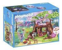 PLAYMOBIL Fairies 70001 Maisonnette forestière des fées-Avant