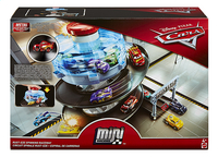 Hot Wheels set de jeu Disney Cars Rust-Eze Spinning Raceway-Avant