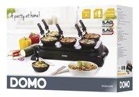 Domo Gourmetset wok en pannenkoeken DO8710W-Rechterzijde