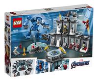 LEGO Super Heroes 76125 La salle des armures d'Iron Man-Arrière