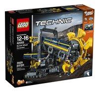 LEGO Technic 42055 Emmerwiel graafmachine-Vooraanzicht