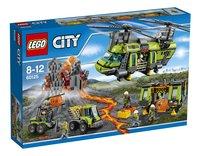 LEGO City 60125 Vulkaan zware vrachthelicopter