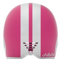 Chillafish kinderhelm Bobbi roze-Achteraanzicht
