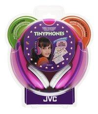 JVC casque HA-KD5 pour enfants rose/mauve-Avant