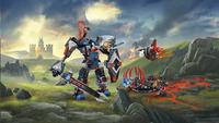 LEGO Nexo Knights 70326 Le robot du chevalier noir-Image 3
