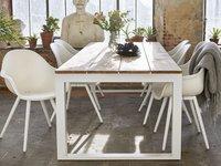Chaise de jardin Geneva blanc-Image 5