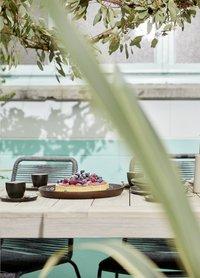 Table de jardin Ulm Grey Wash 160 x 90 cm-Image 4