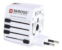 Skross universele netstroomadapter World Travel USB