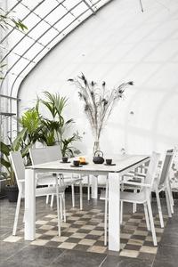 Chaise de jardin Forios gris clair/blanc-Image 7