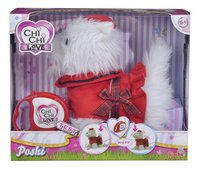 Chi Chi LOVE peluche interactive Poshi West Highland Terrier-Avant
