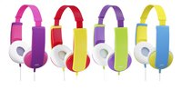 JVC hoofdtelefoon HA-KD5 voor kinderen roze/paars-Artikeldetail