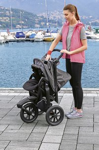 Chicco Wandelwagen Trio Active 3 Top dark grey-Afbeelding 2