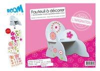 Kinderstoel Country Style met stickers
