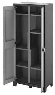 Kis armoire en matière synthétique Titan Multispace H 182 cm-Côté droit