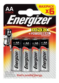 Energizer Max 6 piles AA