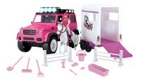 Dickie Toys Mercedes Horse Trailer Set-Vooraanzicht