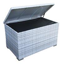 Coffre de rangement Manto gris clair-Détail de l'article