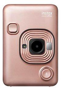 Fujifilm appareil photo instax mini LiPlay Blush Gold-Avant