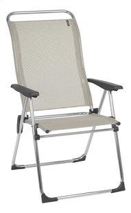 Lafuma Chaise de camping Alu Cham seigle-Côté gauche