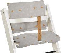 Treppy Coussin réducteur pour chaise haute zigzag gris