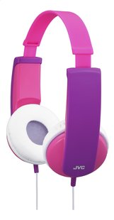 JVC hoofdtelefoon HA-KD5 voor kinderen roze/paars-Vooraanzicht