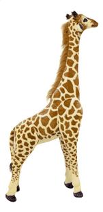 Peluche géante girafe 137 cm-Côté gauche
