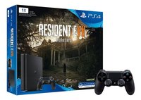 PS4 Slim console 1TB Resident Evil + controller DualShock 4