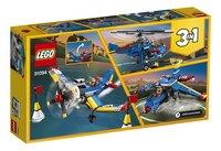 LEGO Creator 3 en 1 31094 L'avion de course-Arrière