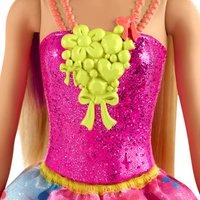 Barbie mannequinpop Dreamtopia Prinses met bloemetjesjurk-Artikeldetail