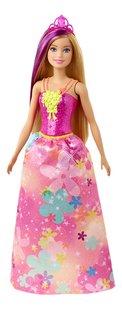 Barbie mannequinpop Dreamtopia Prinses met bloemetjesjurk-Vooraanzicht