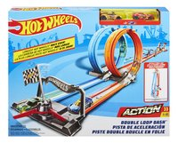 Hot Wheels Action acrobatische racebaan Double Loop Dash-Vooraanzicht
