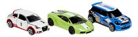 DreamLand 3 racewagens wit/groen/blauw