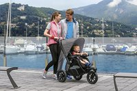 Chicco Wandelwagen Trio Active 3 Top dark grey-Afbeelding 1