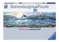 Ravensburger puzzle panorama Vie marine-Avant
