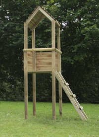 Houten speeltoren voor Tildonk