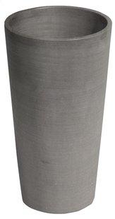 Ecopot's Hoge ronde bloembak Amsterdam grey