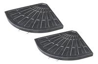 2 éléments de lestage en fibre d'argile pour parasol suspendu-Détail de l'article